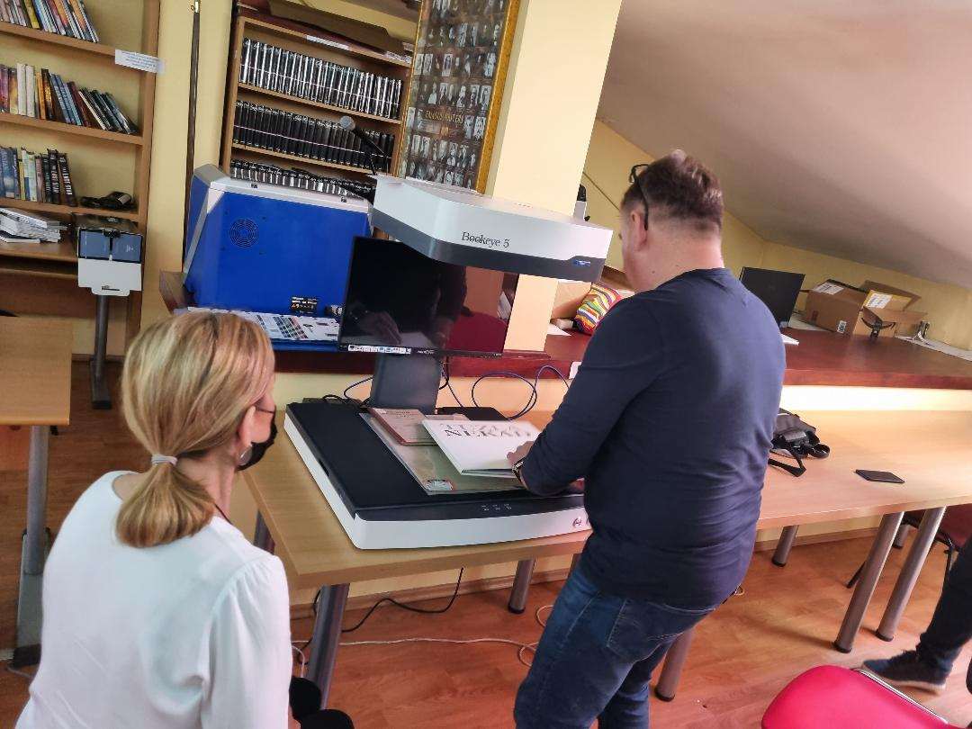 Nabavljen profesionalni skener za digitalizaciju knjiga