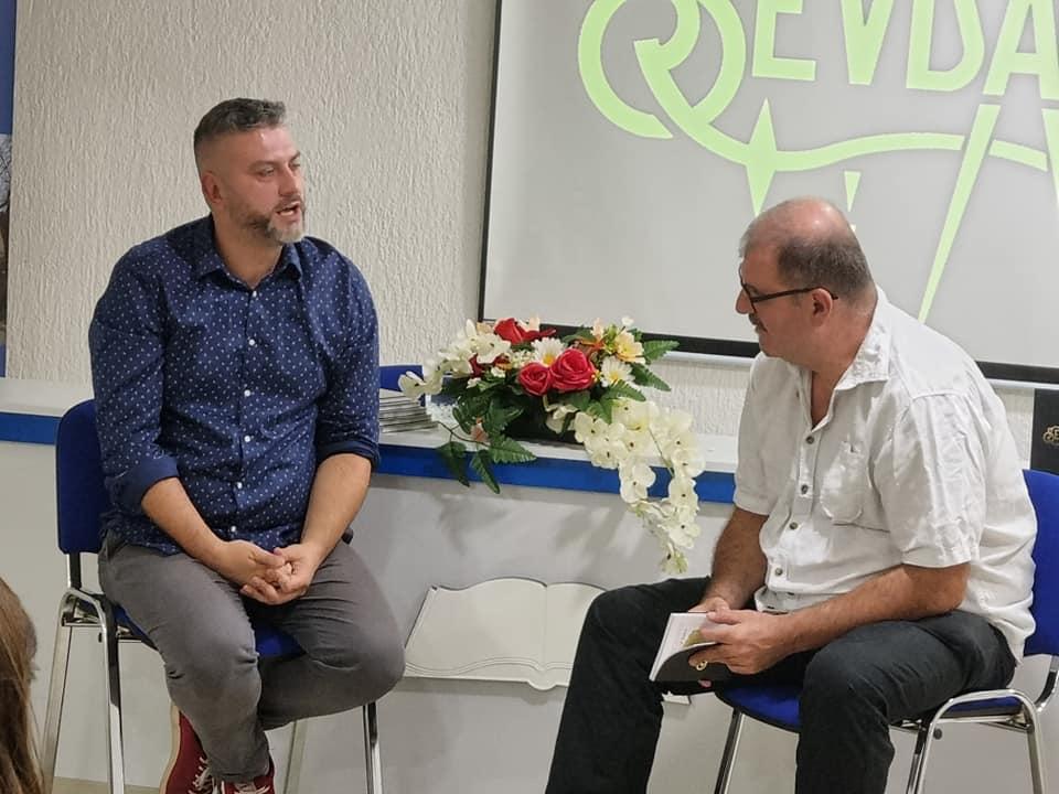 "Predstavljena knjiga ""Sevdah"", Damira Imamovića"