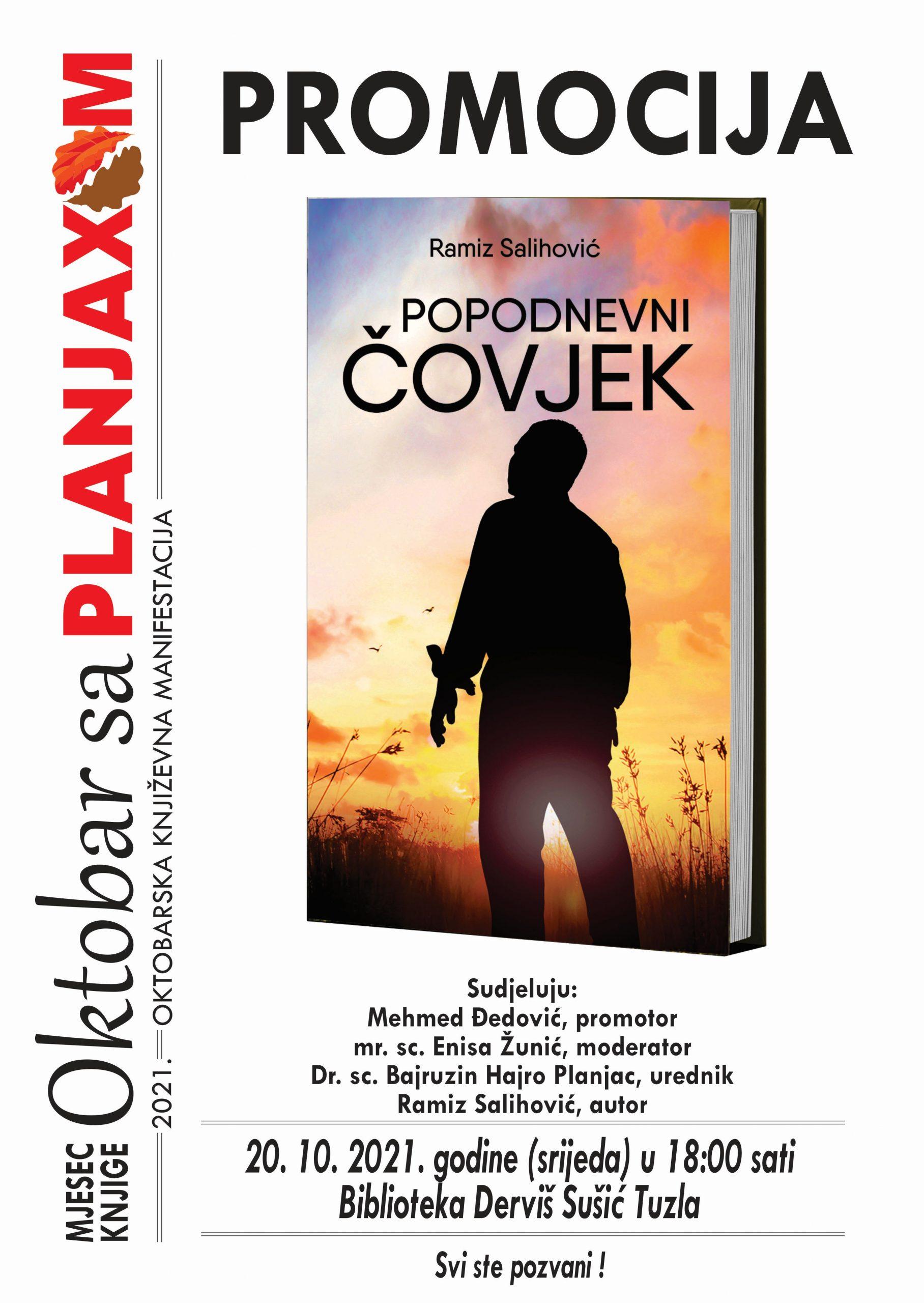 Promocija knjige POPODNEVNI ČOVJEK